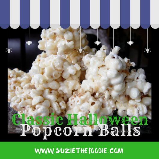 Classic Halloween Popcorn Balls