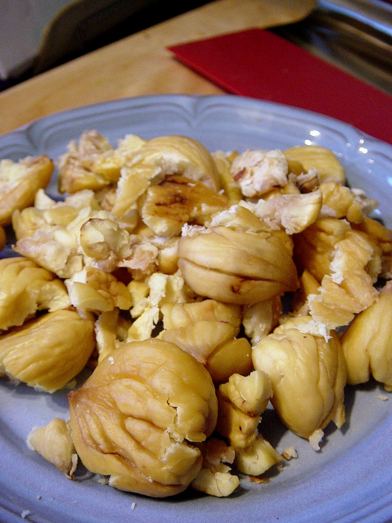 Oven Roasted Chestnuts Food Network