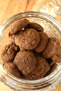 Mocha Chip Cookies… My Favourite!
