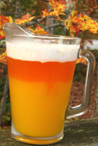 Halloween Candy Corn Drink