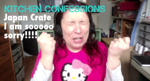 Suzie the Foodie's Kitchen Confession #1 Japan Crate