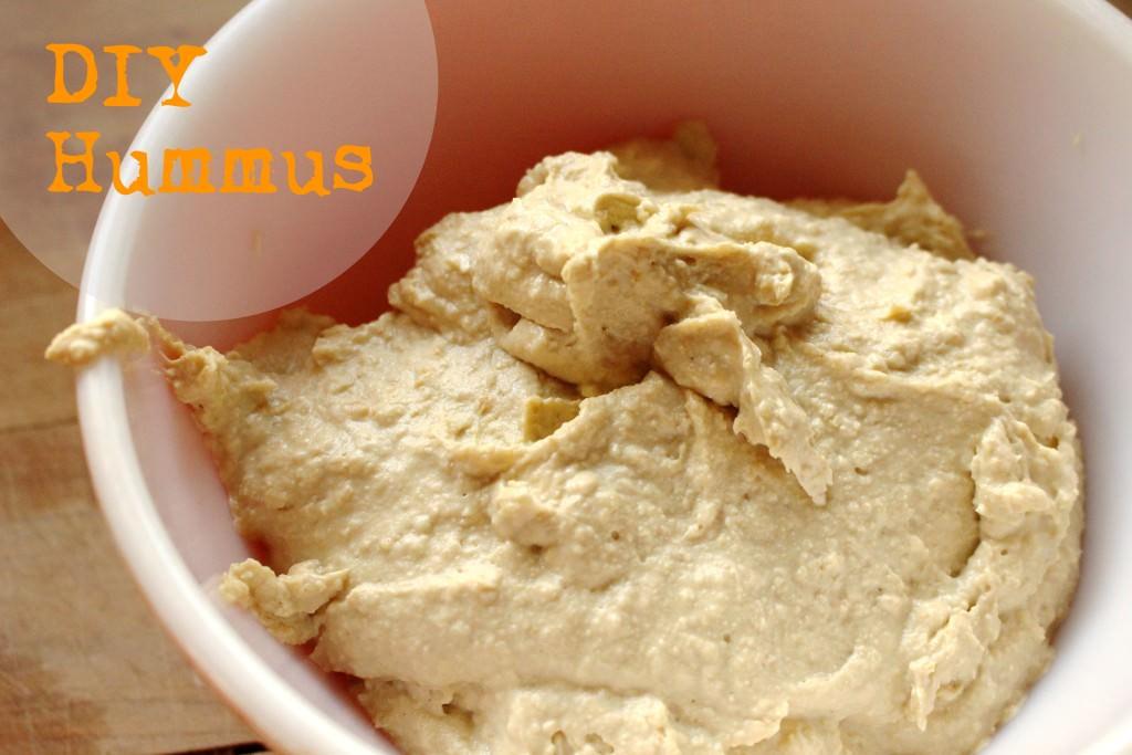 DIY Hummus – Tutorial & Recipe