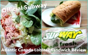 Official Product Review of Subway's Atlantic Canada Lobster Sandwich