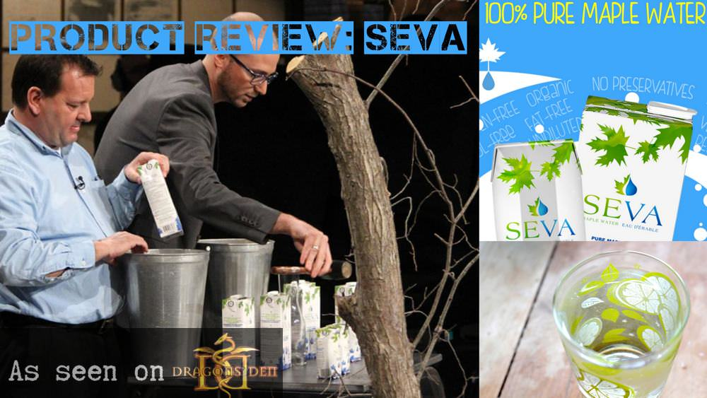 Product Review:  SEVA Maple Water (As Seen On Dragons' Den)