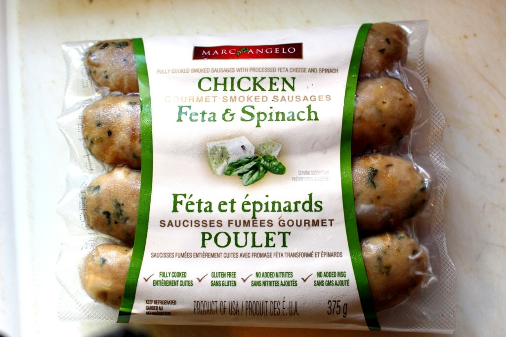 Roasted Garlic And Feta Chicken Sausage Recipe — Dishmaps