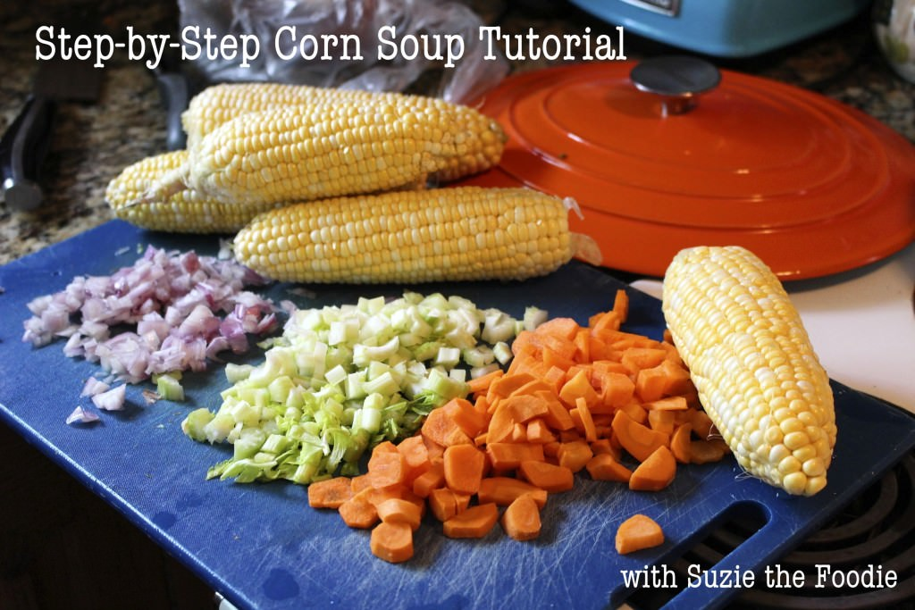 Step-by-Step Corn Soup Tutorial