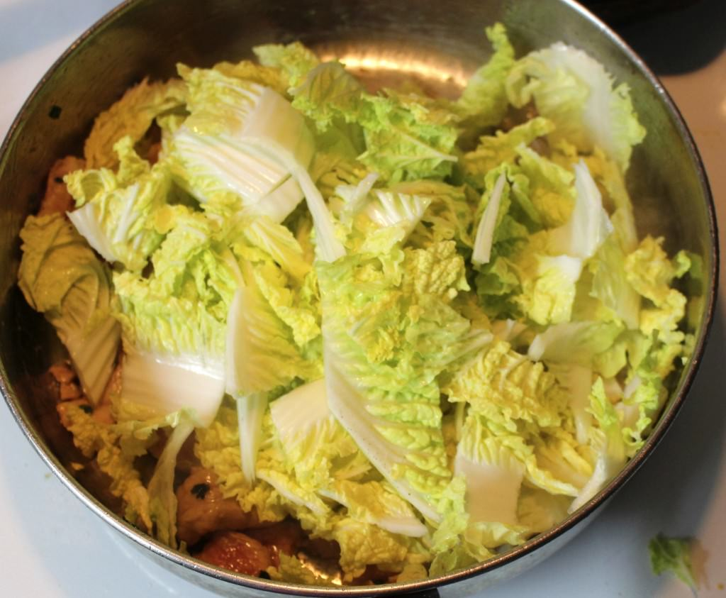 Helen Chen's Pork Shreds and Napa Cabbage