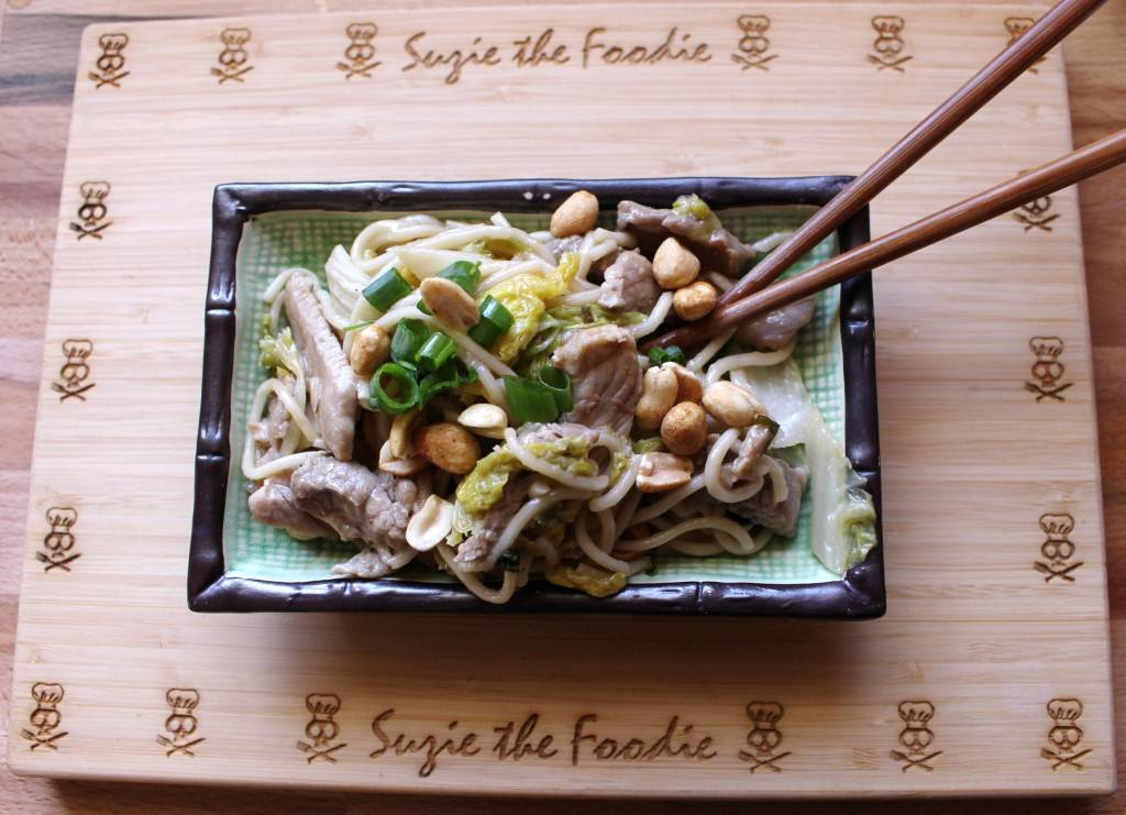 Helen Chen's Pork Shreds and Napa Cabbage -