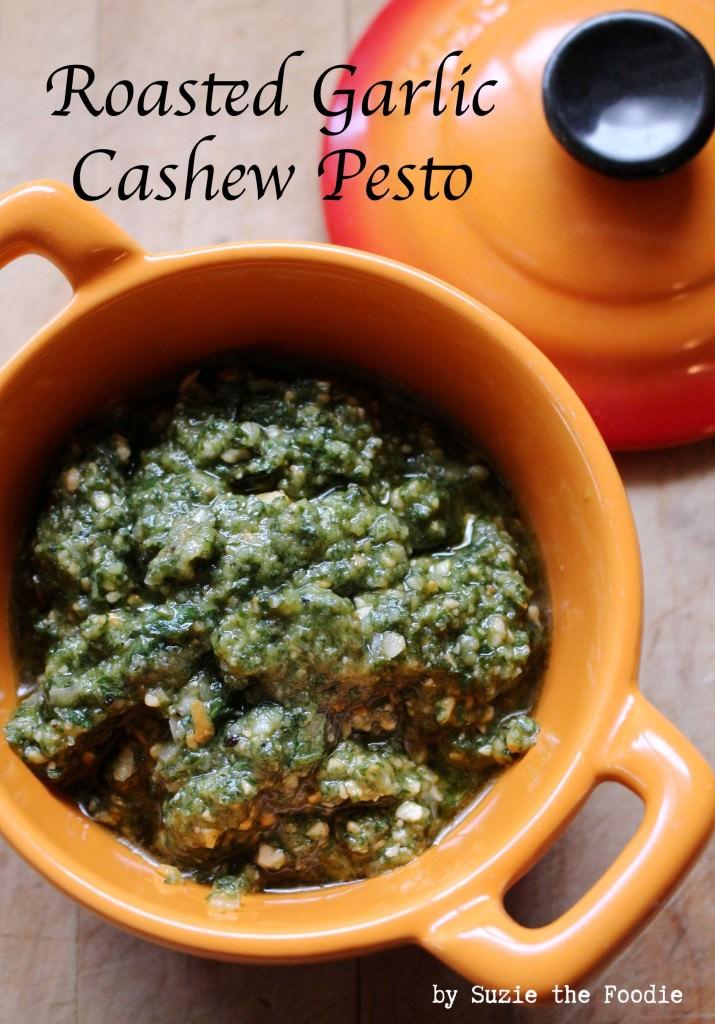 Roasted Garlic Cashew Pesto