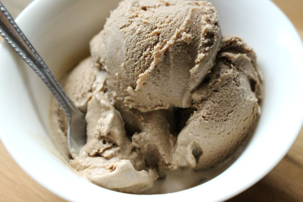 Simple Mocha Ice Cream