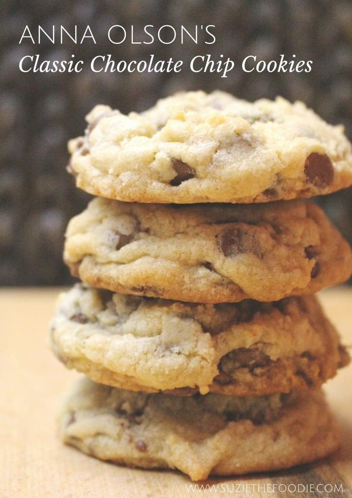 Anna Olson's Classic Chocolate Chip Cookies