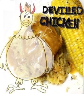 Pressure Cooker Devilled Chicken