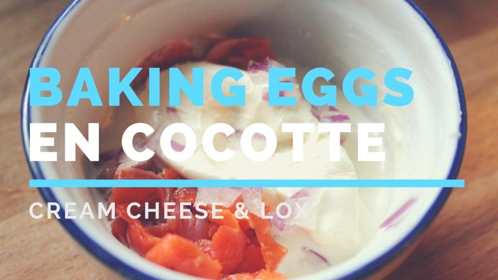 Baking Eggs en Cocotte