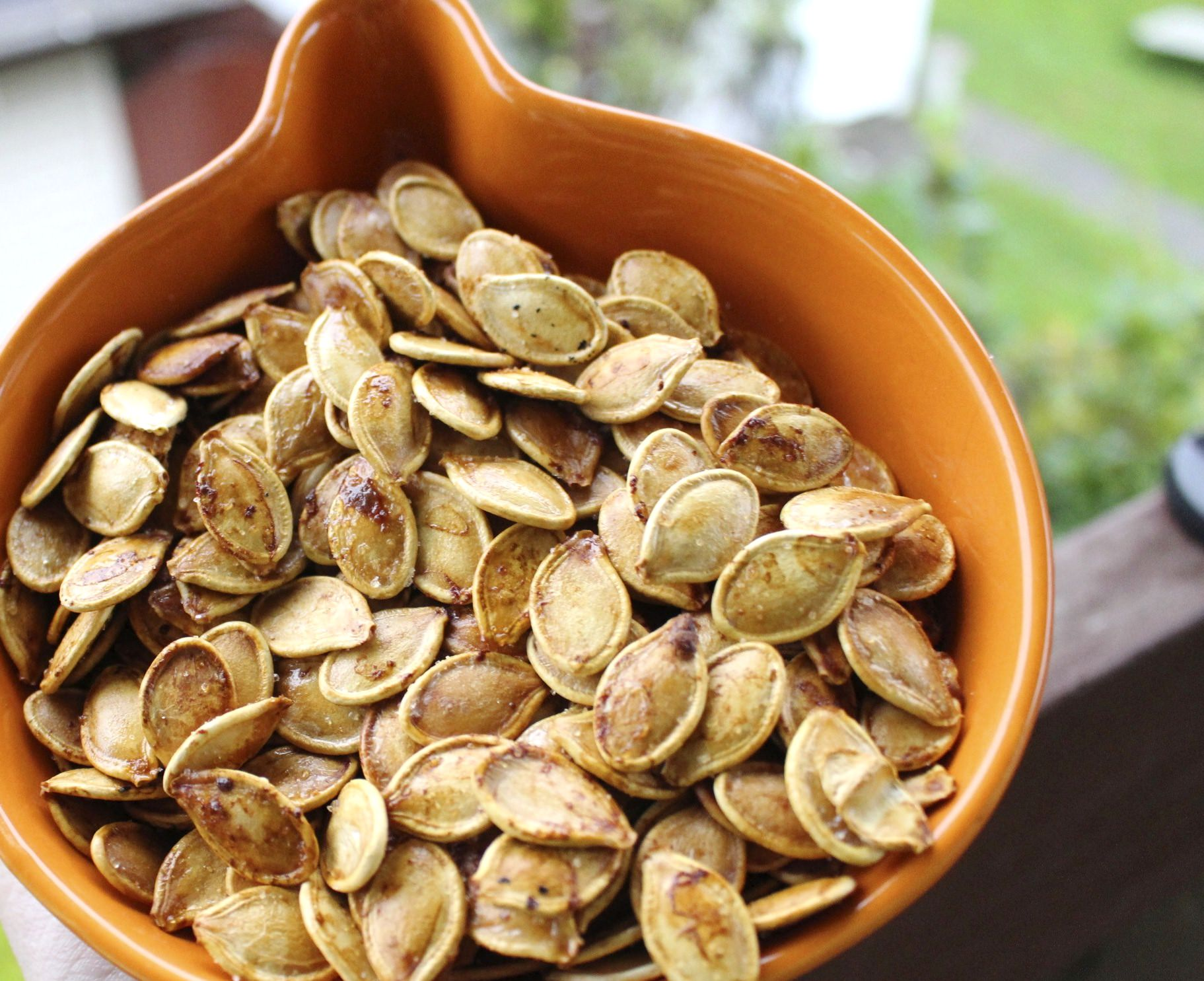 Slow Roasted Pumpkin Seed Tutorial
