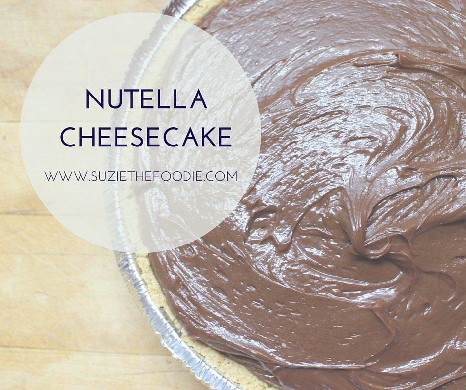 Easy No-Bake Nutella Cheesecake