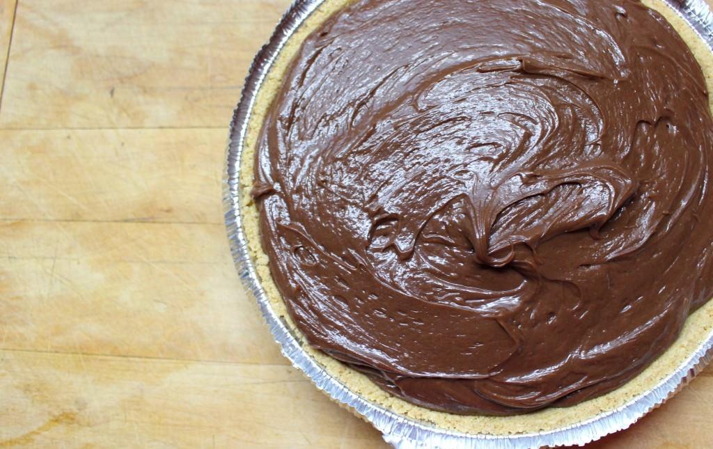 Easy No Bake Nutella Cheesecake 08