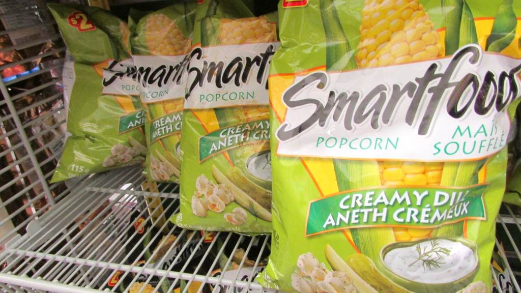 Smartfood Creamy Dill Popcorn