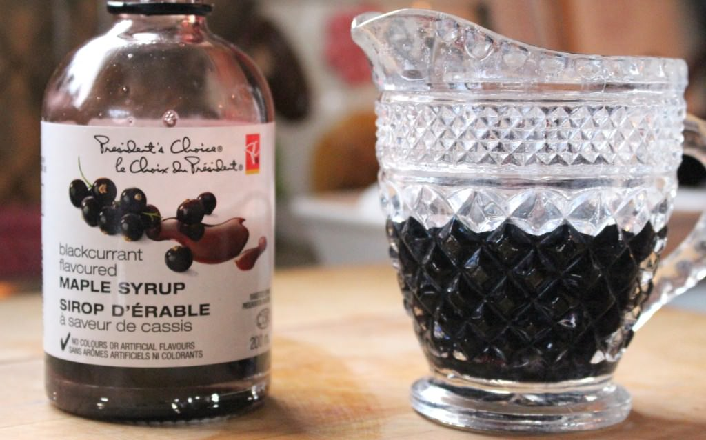PC Blackcurrant Flavoured Maple Syrup