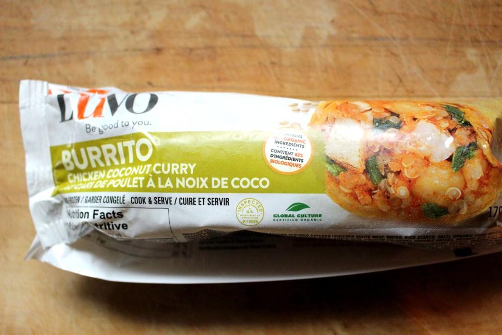 Luvo Chicken Coconut Curry Burrito