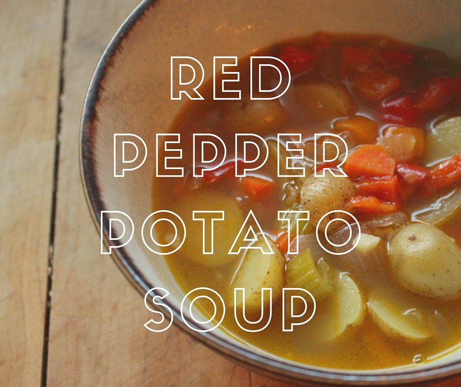 no name Naturally Imperfect Red Pepper Potato Soup