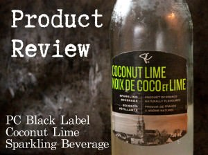 President's Choice Black Label Coconut Lime Sparkling Beverage