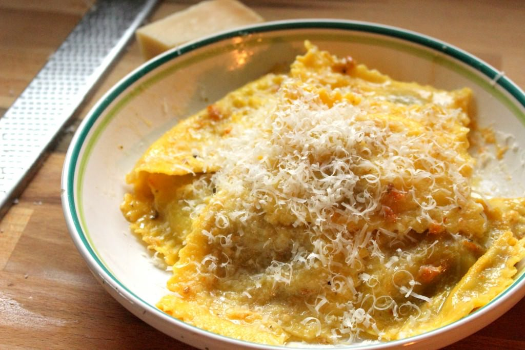 PC Black Label Ravioli Grandi Heirloom Tomato and Burrata Filled Egg Pasta