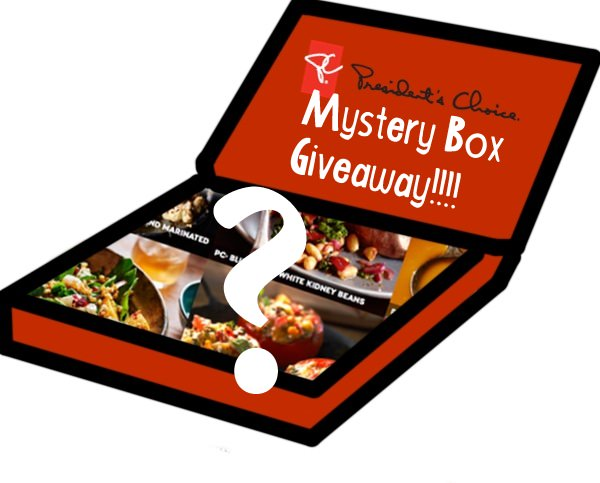 President's Choice $100 Mystery Box Giveaway!