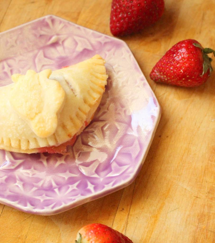 Strawberry Rhubarb Turnovers (Gluten-Free optional)