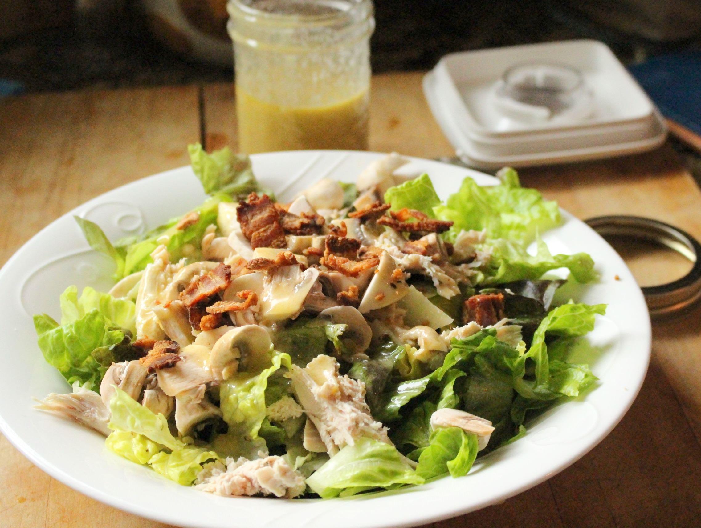Fast & Fabulous Caesar Salad Dressing Recipe