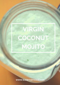 Virgin Coconut Mojitos