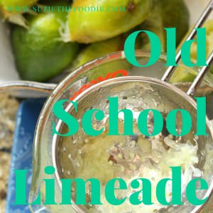 Old School Traditional Summer Limeade