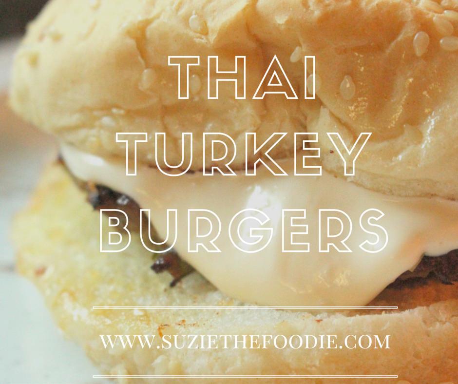 Ricardo Magazine-Inspired Thai Turkey Burgers