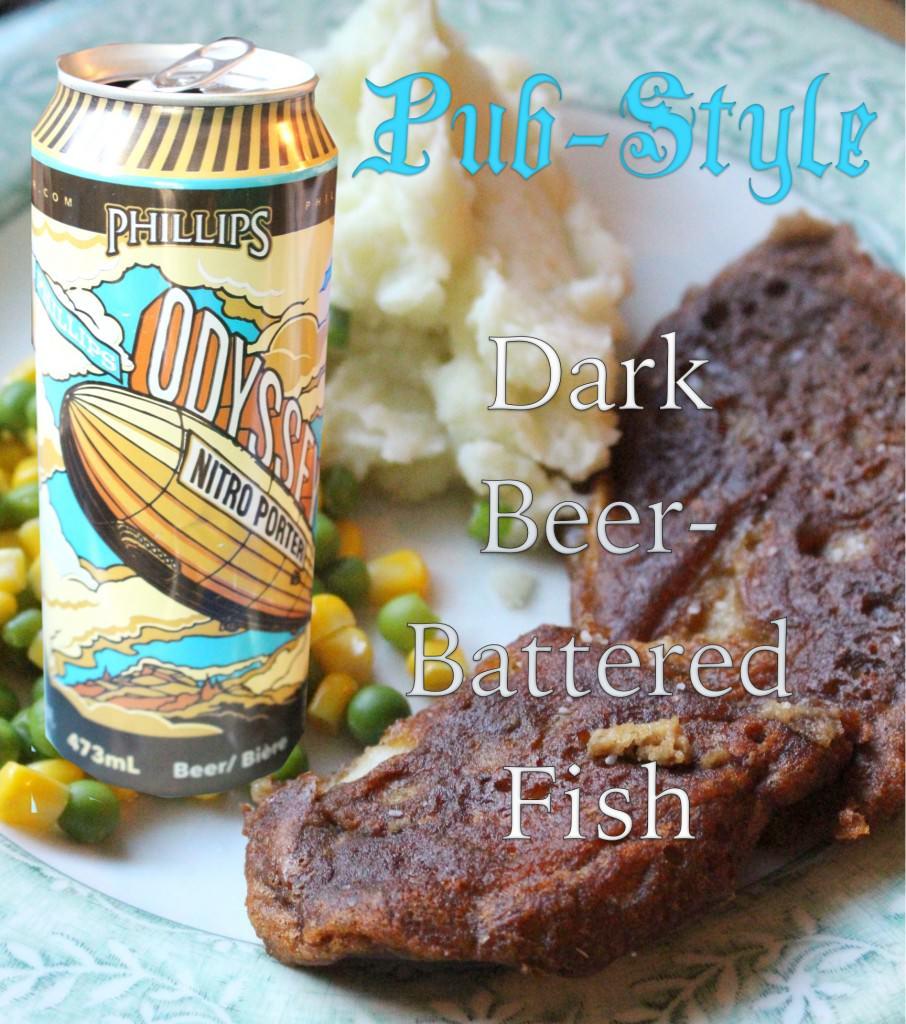 Pub-Style Dark Beer-Battered Fish