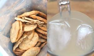 President's Choice Organics Lemonade + Chia & Quinoa Pita Crackers