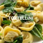 Simple & Decadent Tortellini Alfredo