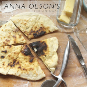 Anna Olson's Indian Naan