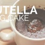 Recipe Test of Nutella Cake in a Mug… My First Mug Cake!