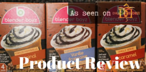 Product Review of Blender Boyz Iced Capps (As Seen On Dragons' Den)