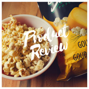 Product Review of Smartfood's Newest Flavour – Gouda & Chive Popcorn
