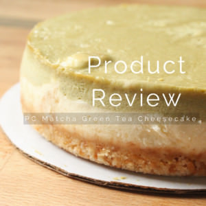 President's Choice Matcha Green Tea Cheesecake Product Review
