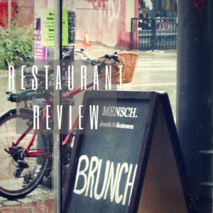 Restaurant Review of Mensch Jewish Delicatessen in Gastown
