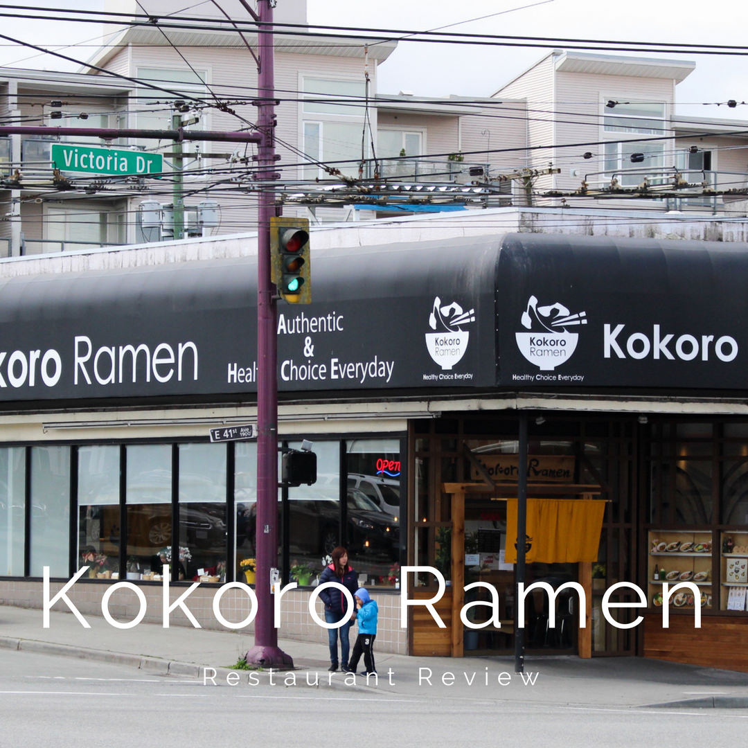 Kokoro Ramen Restaurant Review