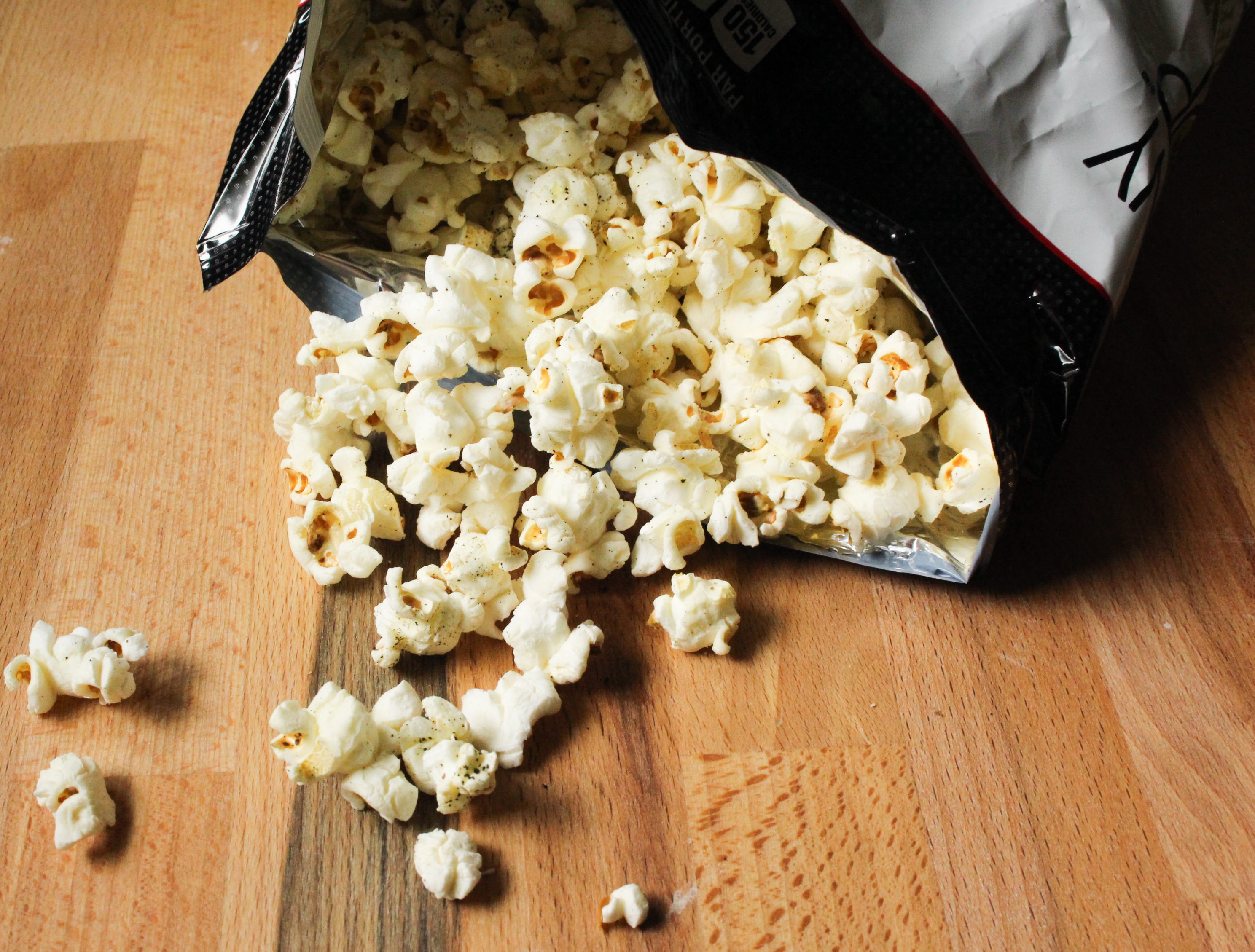 Product Review Skinny Pop Popcorn: Sea Salt & Pepper