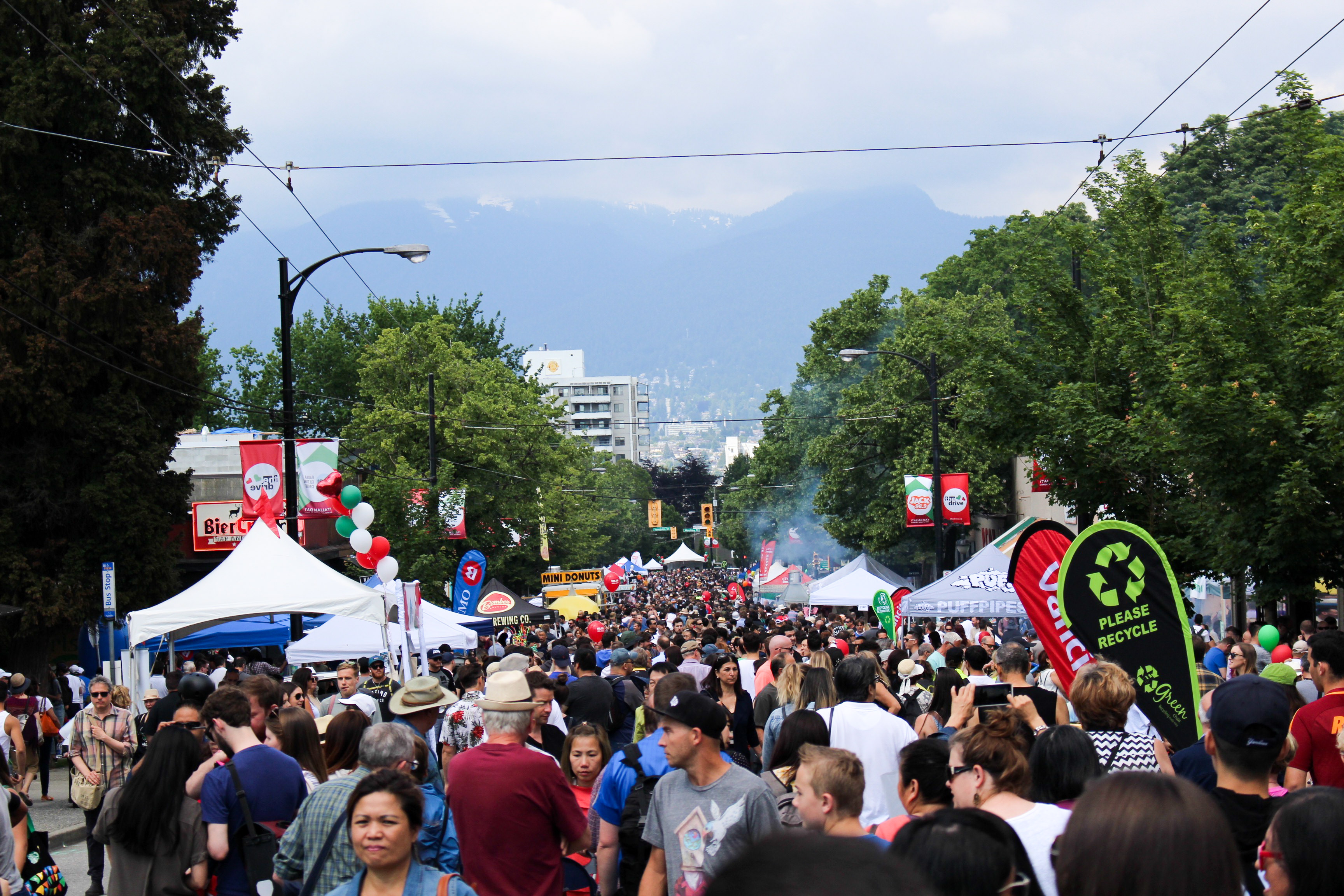 Italian Day on Commercial Drive 2017