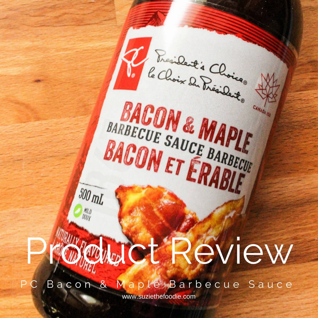 PC Bacon & Maple Barbecue Sauce