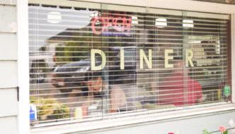 Brunch at The Hilltop Diner Cafe in Langley, BC