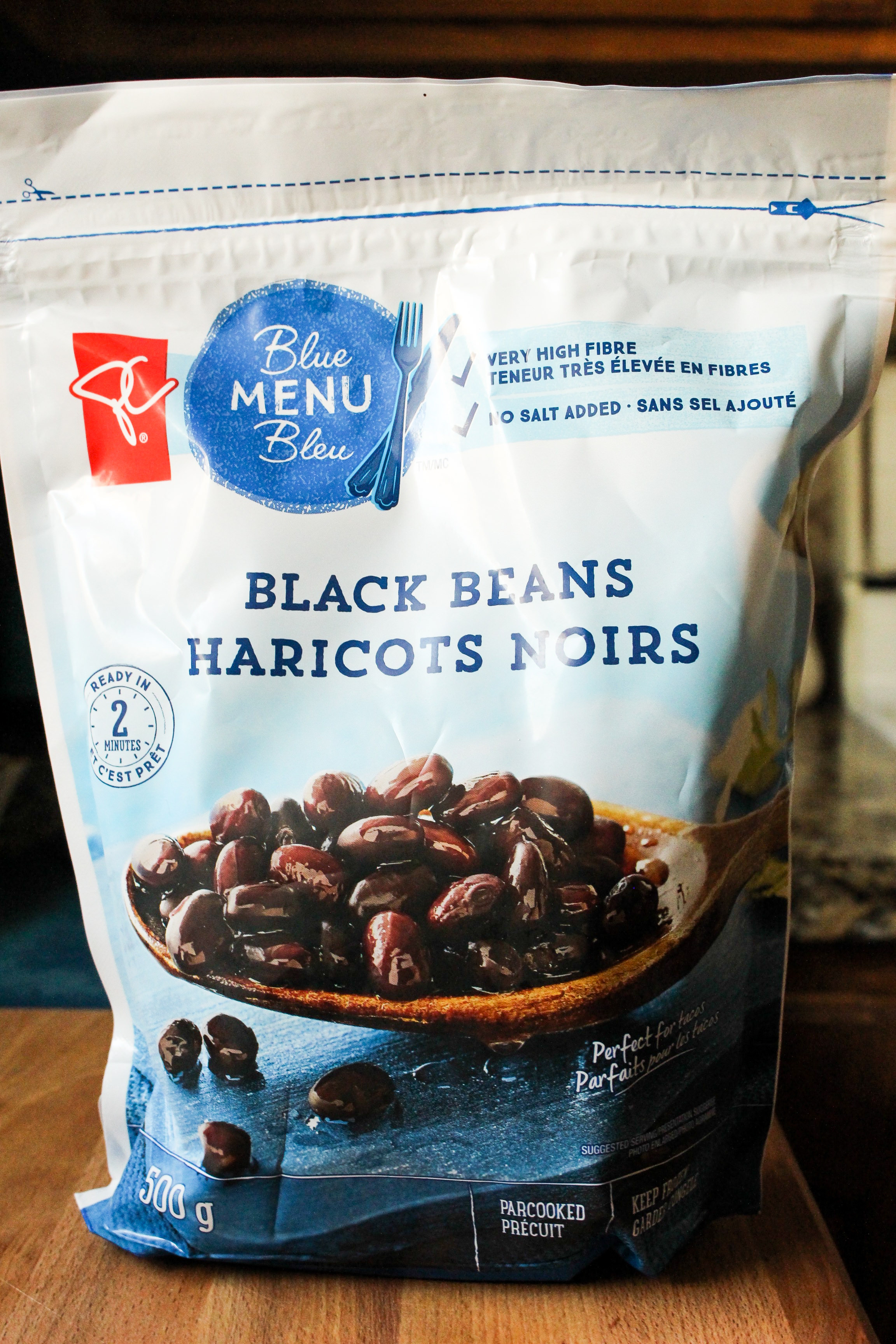 Product Review PC Frozen Black Beans