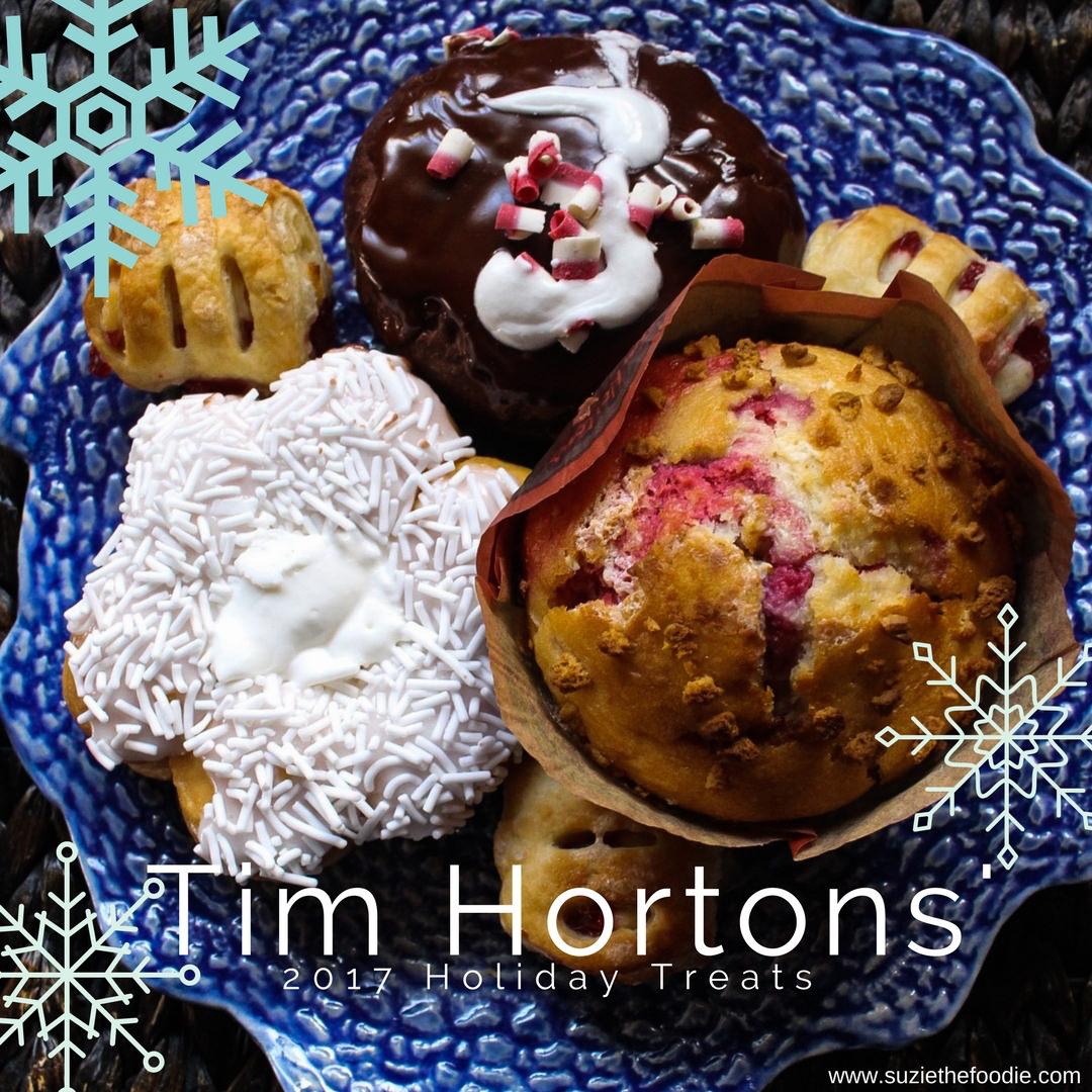 Tim Hortons' 2017 Holiday Treats
