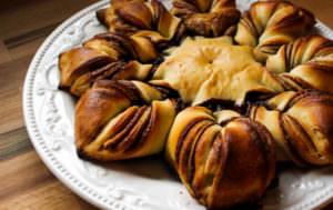 King Arthur Flour Cinnamon Star Bread Bakealong