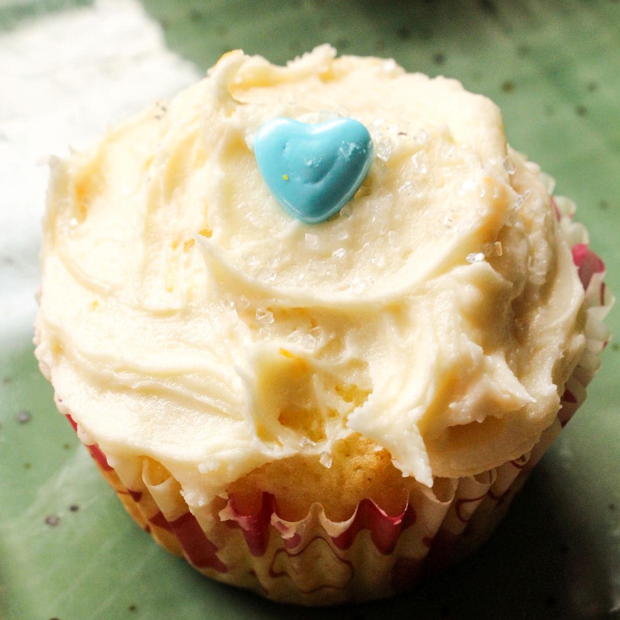 Good Luck Orange Blossom Cupcakes